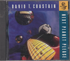 DAVID T. CHASTAIN - next planet please CD