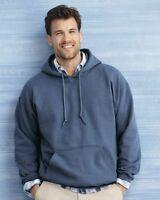 Gildan HOODIE BLANK BULK LOT G185 Colors White Plain S-XL Wholesale Hooded 18500
