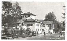 D0676 Esposizione di Torino - Padiglione Caccia e Pesca - Stampa - 1928 print