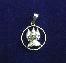 Beautiful 925 Sterling Silver Brahma-Vishnu-Mahesh Pendent For Unisex