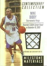 (HCW) 2003-04 Topps Contemporary Collection Materials 169/250 Mike Bibby 04241