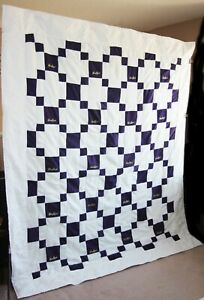 NEW! Cool Gift! Hand Stitched CROWN ROYAL QUILT Queen size Bedspread Blanket
