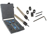 """Rotary 9pc Spot Weld Cutter Drill 3/8"""" Double Side Cut 2 packs & Extra 4 Cutters"""