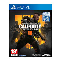Call of Duty Black Ops 4 PS4 2018 Chinese English Korean Factory Sealed