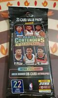2019-20 Panini Contenders NBA Basketball 22 Cards Value Pack JA? Zion?
