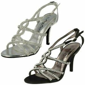 Ladies Anne Michelle Diamante 'Sandals'