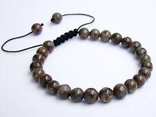 Men's bracelet all 8mm Natural Gemstone Labradorite beads
