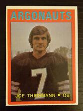 1972 OPC O-Pee-Chee CFL Football #27 Joe Theismann Toronto Argonauts 2nd Year