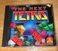 The Next Tetris (PC, 1999, Hasbro Interactive) In Case w/ Manual!