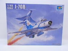 Interhobby 31750 Trumpeter 02862 J-7GB Chengdu Fighter Flugzeug 1:48 Bausatz OVP