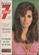 Télé 7 Jours N° 721/1974 - Raquel Welsh Carlos & Dassin Jean Richard B. Lugosi