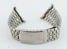 20mm Vintage Seiko Watch Bracelet Stainless Steel A158-5040 XGA781L H340/30.1
