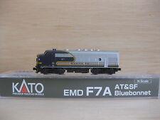 Escala N - Kato locomotora Diésel EMD F7a B Santa fe 176-2126 2213 Neu