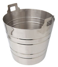 Stainless Steel Champagne Bucket 5 Litre Wine Ice Bucket Cooler Beaumont Bar Pub