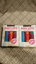 Lot of 2 Maybelline Baby Lips moisturizing lip balm. 3 pack