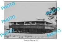 OLD 8x6 PHOTO MOUNT ISA QUEENSLAND MOUNT ISA HOTEL c1925