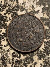 1928 Netherlands 1 Cent Lot#Q7911