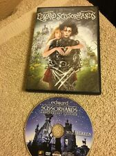 Edward Scissorhands (DVD, 2015, 25th Anniversary) Johnny Depp Free Shipping!!