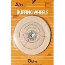 Dico 527-36-6 Cushion Sewn 6-Inch Diameter 1/2-Inch Thick Buffing Wheel