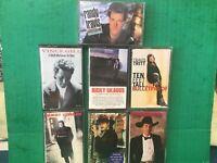 COUNTRY (7) Cassette Tape Lot Strait-Tritt-Travis-McGraw