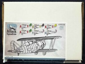 Attack Squadron #48036 1/48 F2F-1 US NAVAL BIPLANE FIGHTER PRO SET Resin Kit!