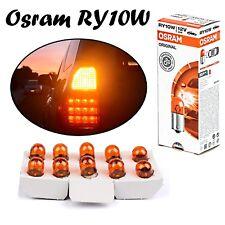 10x Osram RY10W 10W 12V BAU15S 5009 Orange Amber Blinker Ersatz Halogen Lampe
