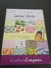 Cute Companions Summer Stories - Twin Pack CD Rom - Crafter's Companion Double