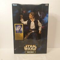 Star Wars 12 inch Han Solo quick draw action - Kenner 1998 NEW