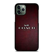ELEGANT COACH iPhone 6/6S 7 8 Plus X/XS Max XR 11 Pro Case Cover