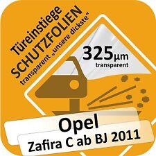 Opel Zafira -C- Tür Einstiege Schweller Auto Schutz Lackschutz Folie