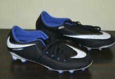 Black Nike Hypervenom Nikeskin Soccer Cleats Size 7.5