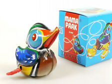 Lehmann 940 Mama Paak Canard Horlogerie Étain Toy Jouets en Tôle MIB Ovp
