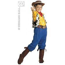 Widmann 38336 Billy Costume da Cowboy in Taglia 5/7 anni