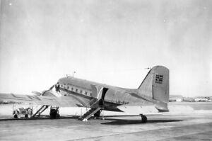 Braathens S.A.F.E., Douglas C-47A, LN-PAS 'Norse Carrier' - original photograph