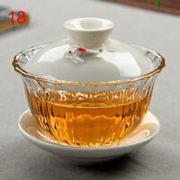 Chinese Tea Set Bone China Tea Sets Dehua Gaiwan Tea Porcelain Pot Set Drinkware