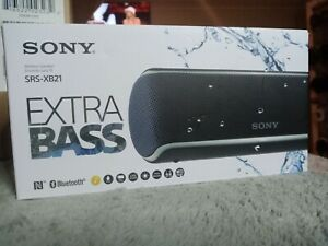 NEW Sony SRS-XB21/B Portable Bluetooth Speaker - Black