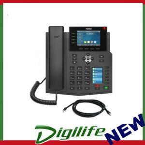 """Fanvil X5U High End Enterprise IP Phone - 3.5"""" Colour Screen, 16 Lines"""