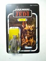 Vintage 1983 Star Wars Return of the Jedi Teebo Kenner ***Recarded*** Star Case