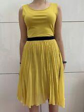 Yellow Midi Dress Max & Co Size S