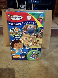 Colorforms Go Diego Go 3-D Deluxe Playset