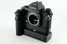 Canon New F-1 AE Finder 35mm Film Camera w/ AE Motor Drive FN *Exc++* N3566