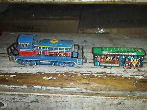 Vintage LITHO Straco Express 10/250 HO SCALE Locomotive & 504 MUNICIPAL RAILWAY