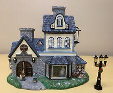 PartyLite Olde World Village Candle Shoppe Christmas House Tea light Holder