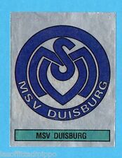 GERMANIA FUSSBALL 80-PANINI-Figurina n.105- MSV DUISBURG - SCUDETTO -Rec