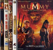 TRANSPORTER / SCORPION KING / SAHARA / MUMMY TOMB DRAGON EMPEROR etc  DVD LOT