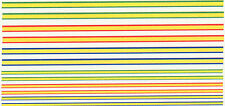 SET OF 12  STRIPES DECAL IDEAL FOR CODE 3  1/43 1/76 police ambulances etc