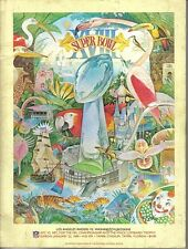1984 Super Bowl Football Program, Los Angeles Raiders vs. Washington Redskins EX