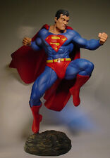 "FLYING SUPERMAN 14 1/2"" STATUE PROFESSIONAL BUILD & PAINT"