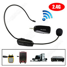 Mini Waistband Loud Voice Booster Amplifier+2.4G Wireless Headset Micro FM Radio