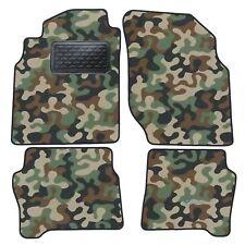 Armee-Tarnungs Autoteppich Autofußmatten Auto-Matten für Nissan Almera N16 00-06